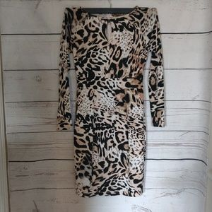 Jennifer Lopez leopard print dress